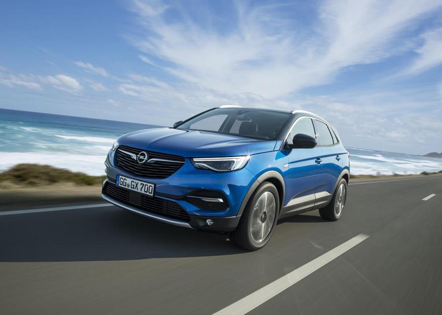 Frontal Opel GrandLand X