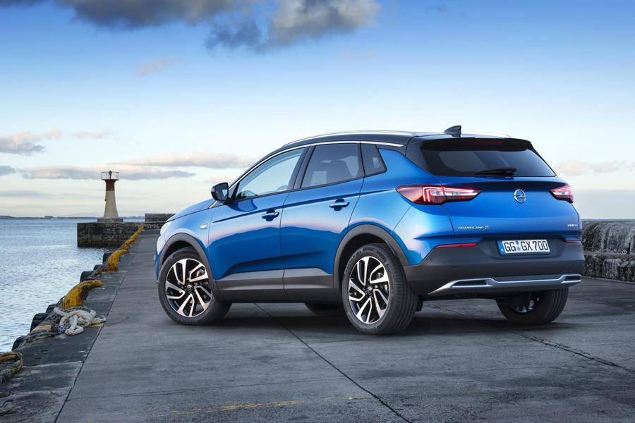 Zaga Opel GrandLand X