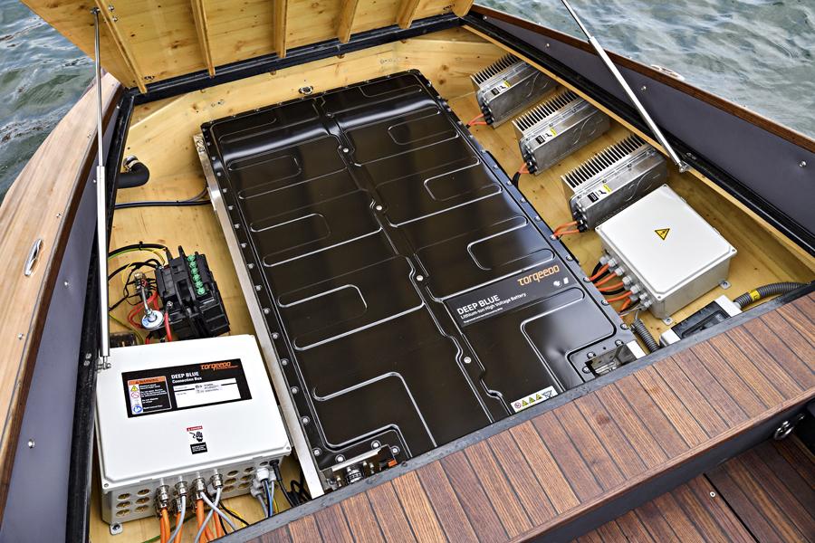 Baterías BMW i3 en embarcación Torqeedo.