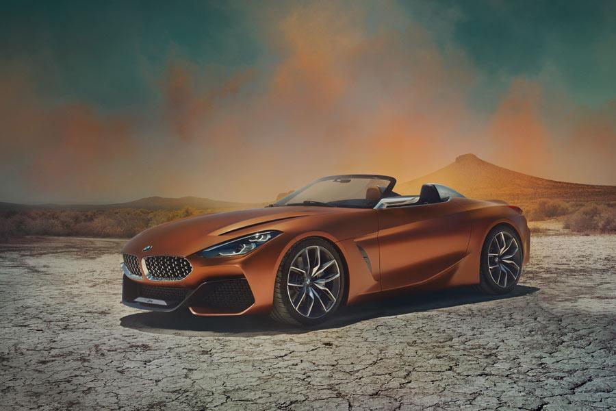 BMW Z4 Concept: adelanto del próximo roadster de la marca alemana