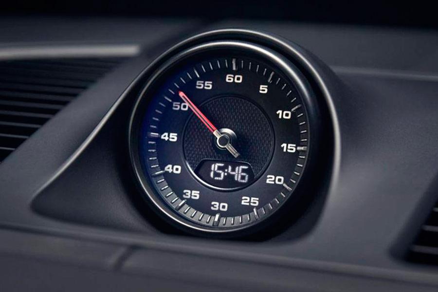 Interior Porsche Cayenne 2018.