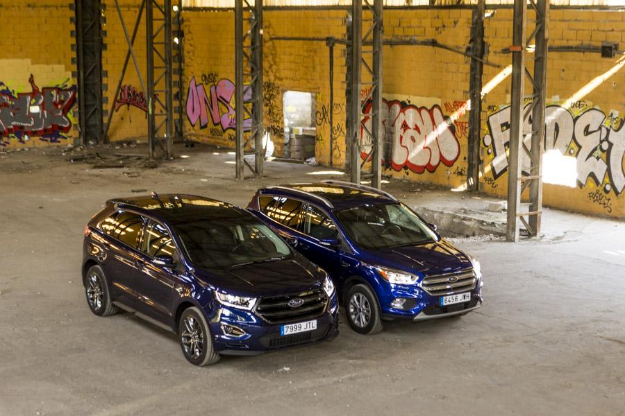 """El Ford Edge posee una imagen con mayor """"empaque"""" respecto al Kuga."""