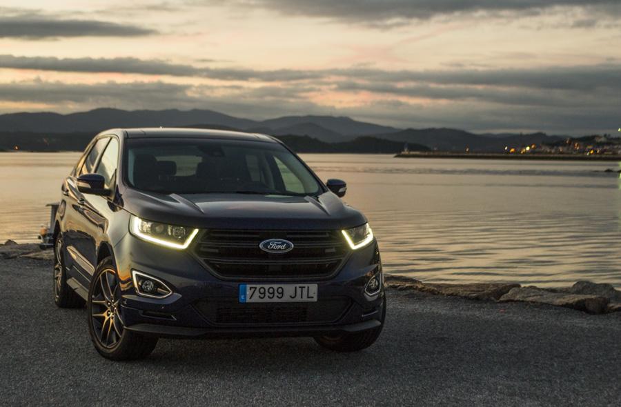 Prueba Ford Edge 2.0 TDCI 210 CV Sport 2016