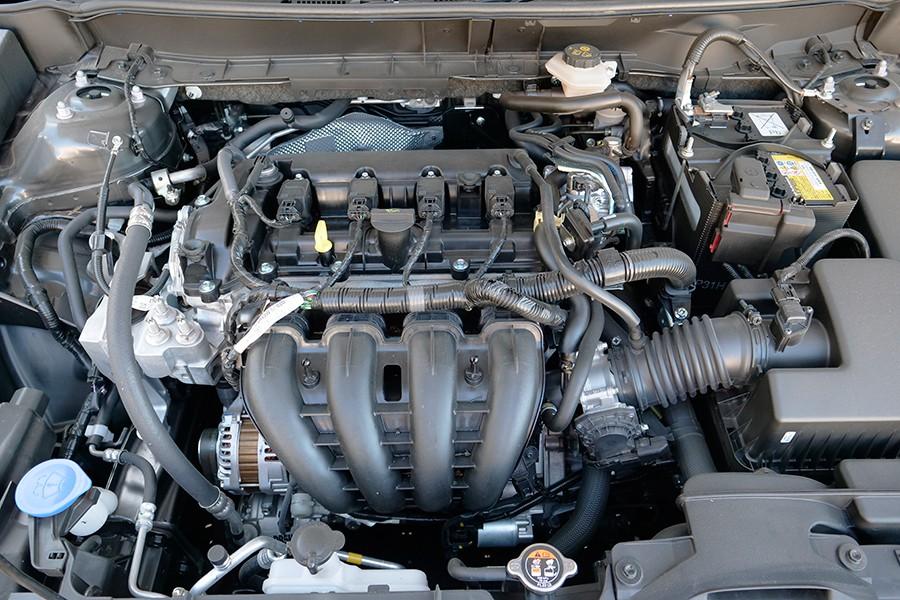 Con una cilindrada de 2 litros, este motor destaca más por su par que por la potencia.