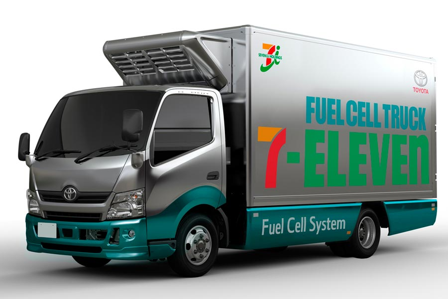 Toyota y 7-Eleven estudian el uso de la pila de combustible para reducir las emisiones