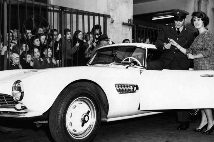 El BMW 507 de Elvis tiene una historia muy curiosa e interesante...