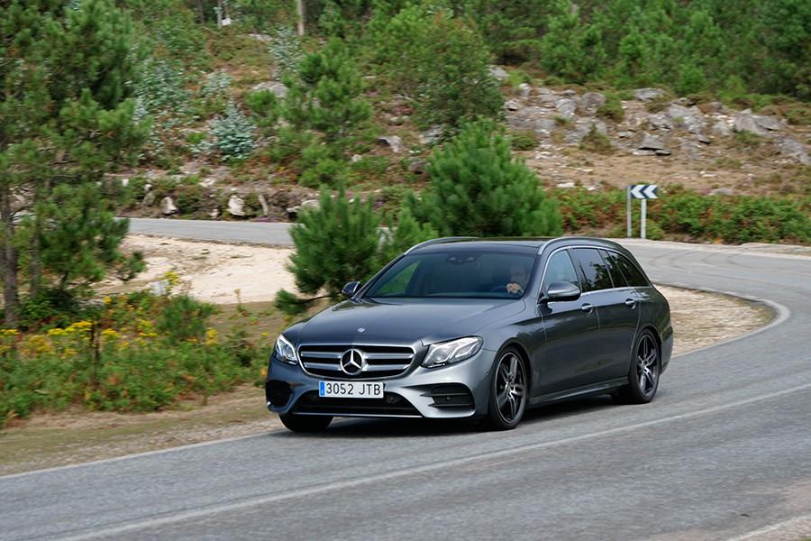 Prueba del Mercedes E 220 CDi Estate 2017