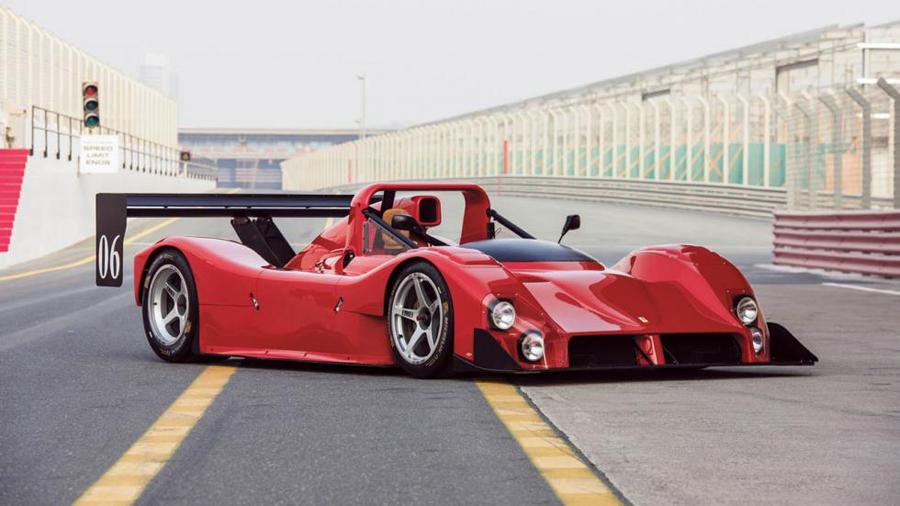 Esta es tu oportunidad de hacerte con un Ferrari de competición