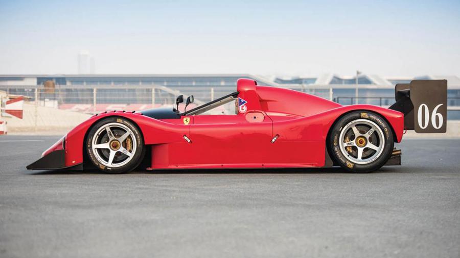 Un Ferrari ganador, así es este Ferrari 333 SP.