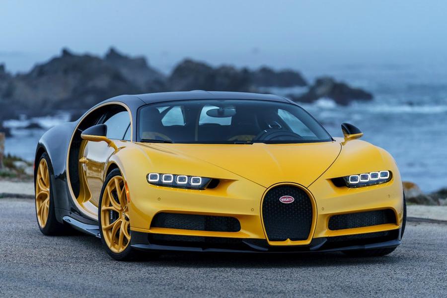 El Bugatti Chiron aterriza en Estados Unidos
