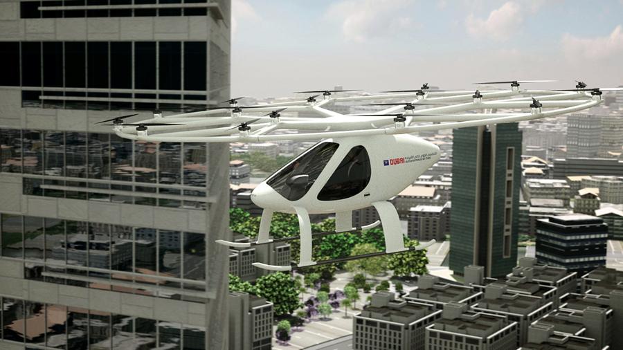 Daimler invierte en el desarrollo de taxis aéreos