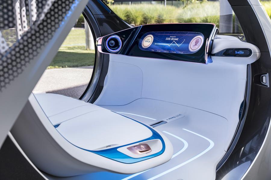 Interior Smart vision EQ fortwo.