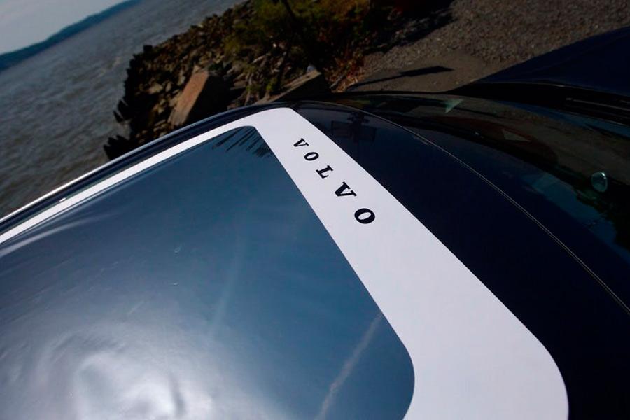 Filtro para el Volvo XC60 durante el eclipse.