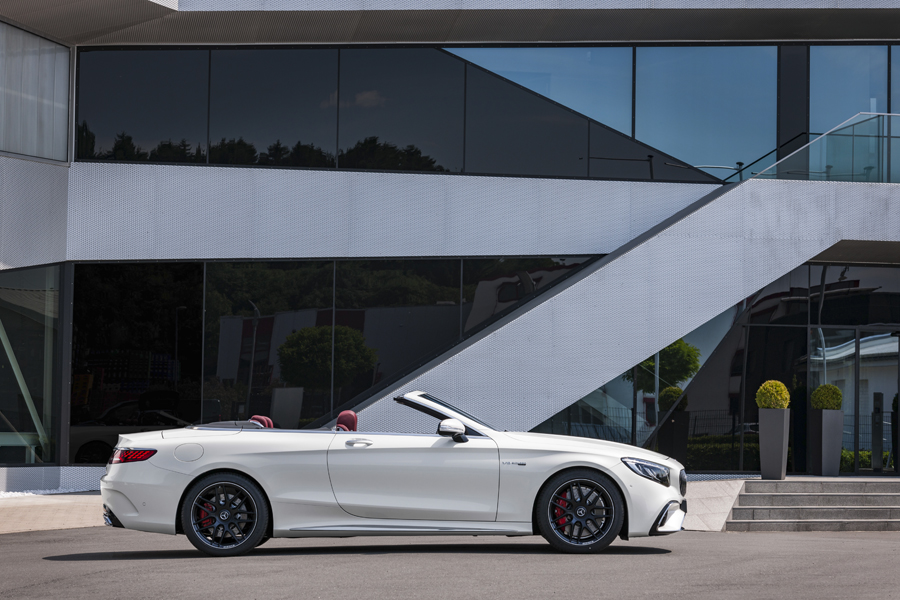 Mercedes-AMG S 63 4MATIC+ Cabriolet.