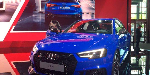 """Aquí está la cuarta generación del Audi RS4 Avant, el hermano """"pequeño"""" del RS6"""