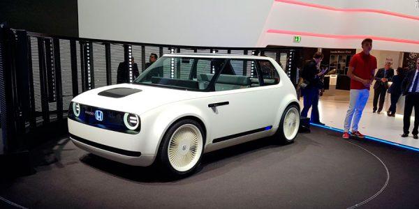 Honda Urban EV Concept, movilidad del presente