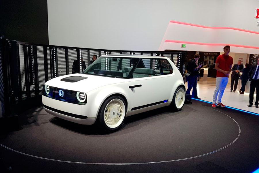 Honda Urban EV Concept en Frankfurt.