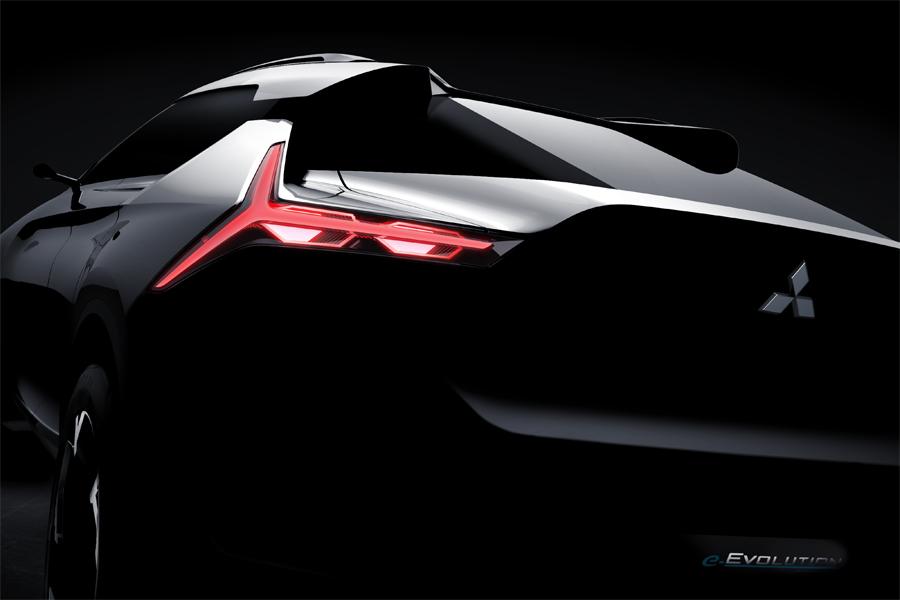 """El """"Evo"""" de Mitsubishi pasará a ser un SUV coupé y eléctrico"""