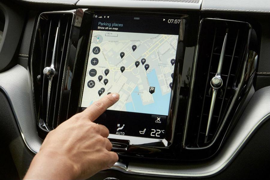 El Volvo XC40 incorporará el sistema de infoentretenimiento Sense, heredado de sus hermanos mayores XC90 y XC60.