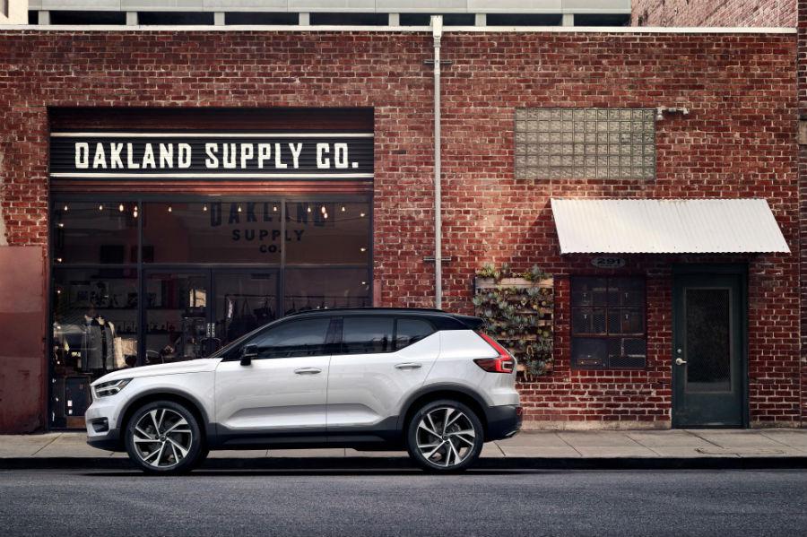 El diseño del Volvo XC40 evoluciona el leguaje de la marca.