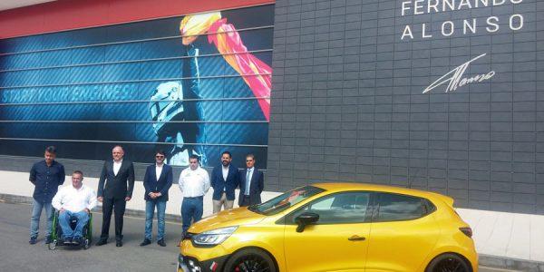 La pasión por Renault llega al Circuito y Museo Fernando Alonso