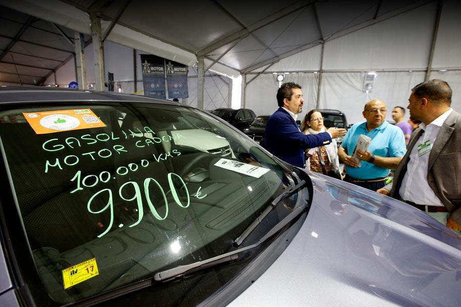 Las ventas de coches usados crecen un 13,2% en octubre