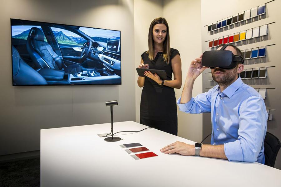 La realidad virtual llega a los concesionarios Audi