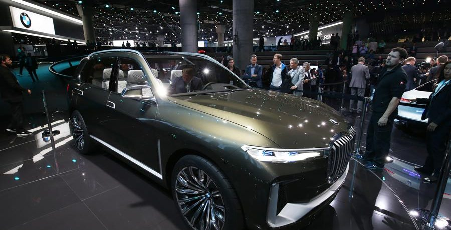 BMW X7 Concept, adelanto del futuro SUV de 7 plazas de BMW