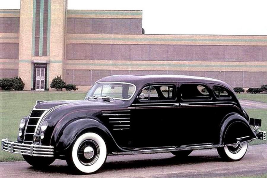 Chrysler Airflow de los años 30.