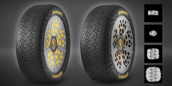 """Continental muestra sus """"neumáticos adaptativos"""""""