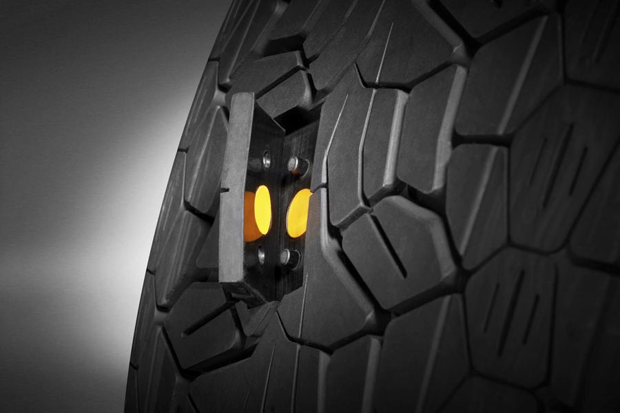 Sensores ContiSense de los neumático Continental.