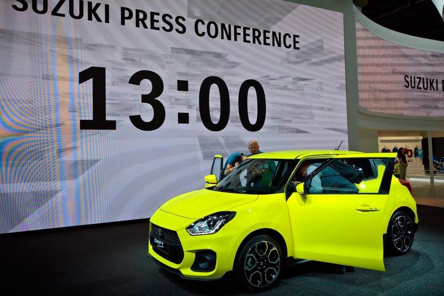El nuevo Suzuki Swift Sport ya es una realidad (y es mucho más agresivo)