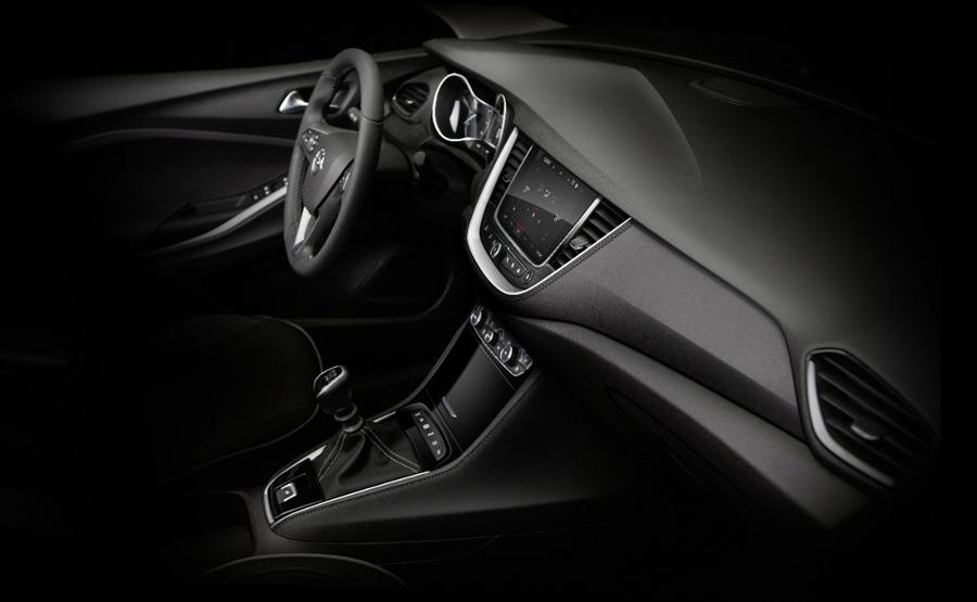 El habitáculo del Opel Grandland X sigue la línea de los últimos productos de la marca alemana.