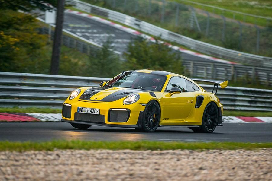 El Porsche 911 GT2 RS es el más rápido de la historia