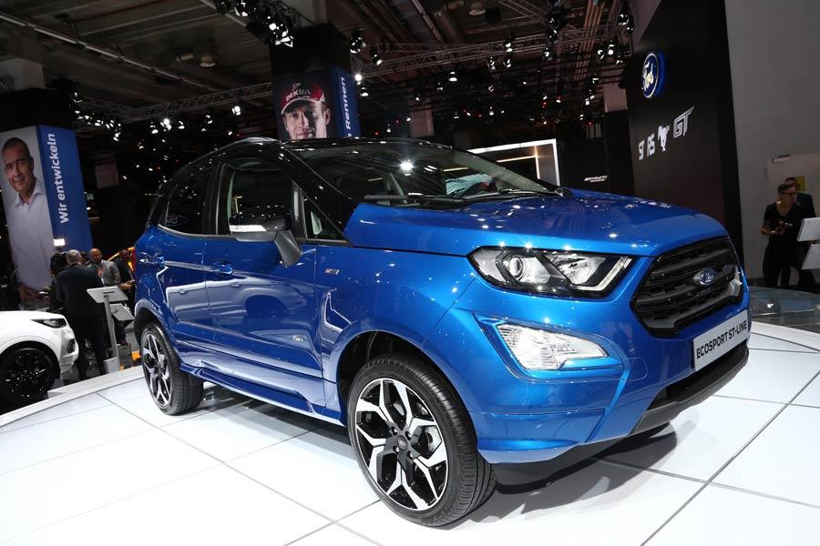 Ford presenta su nuevo Ecosport