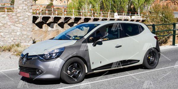 Fotos espía de la mula del Renault Clio V generación