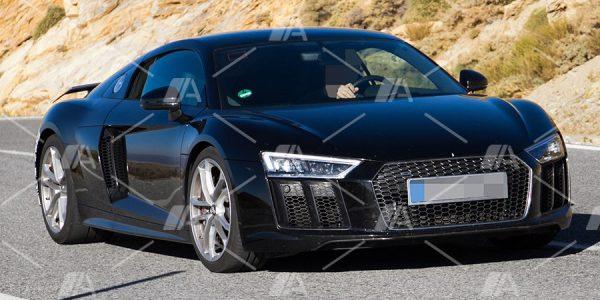 Fotos espía del nuevo Audi R8 V6 2018
