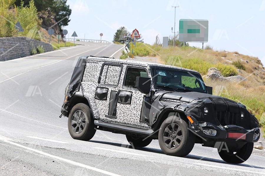 Fotos espía del nuevo Jeep Wrangler 2018