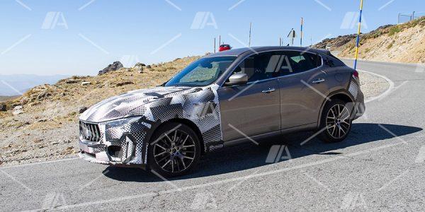 Fotos espía del nuevo Maserati Levante GTS 2018