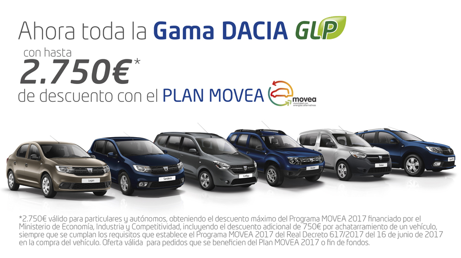 Gama Dacia AutoGas.