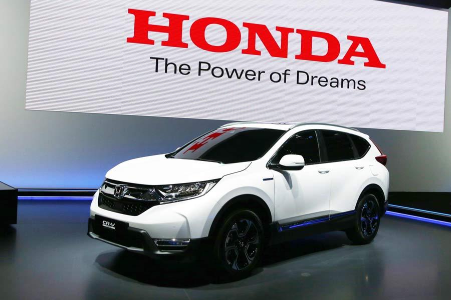 El Honda CR-V híbrido debuta en el Salón de Frankfurt 2017