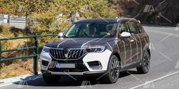 Fotos espía del Brilliance V7 (el BMW X5 chino)