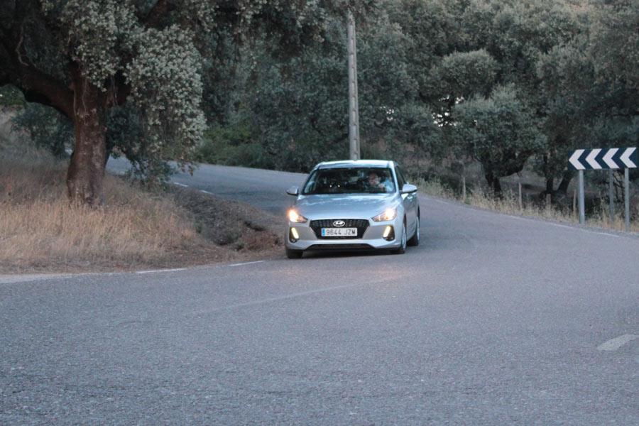 Imágenes dinámicas del Hyundai i30 Cw.