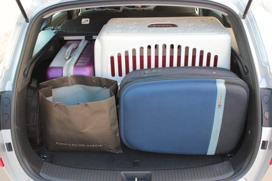 El maletero tiene una capacidad de 602 l.