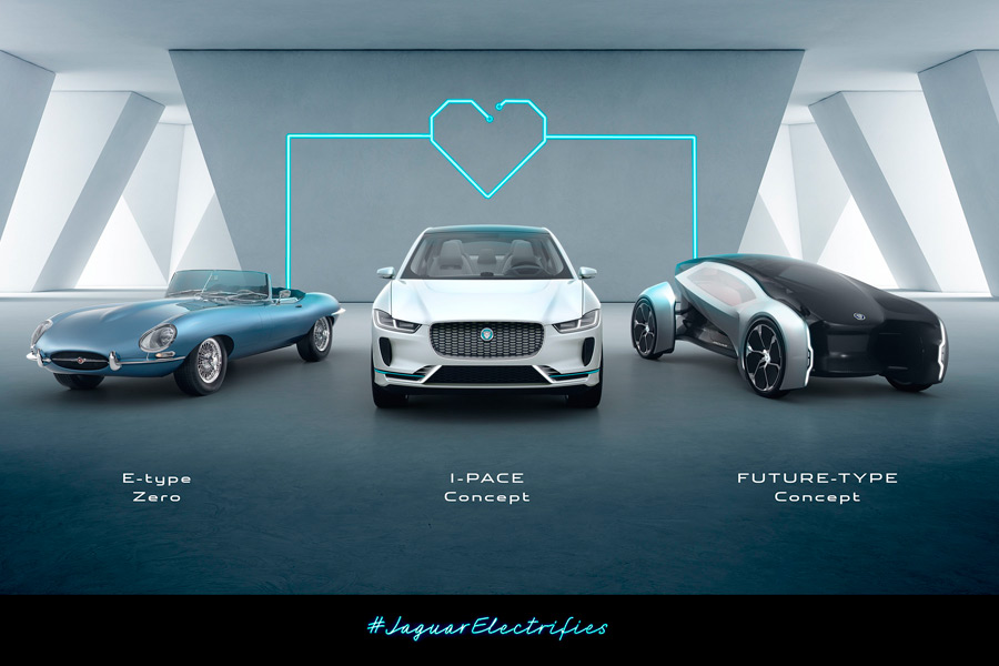 Jaguar-Land Rover se une a la estrategia eléctrica de Volvo