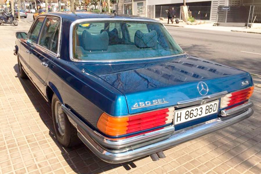 Esta versión era la más lujosa y potente del catálogo de Mercedes de la época.