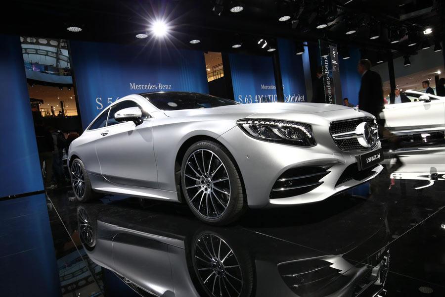 Nuevos Mercedes-AMG Clase S Coupé y Cabrio, en Frankfurt