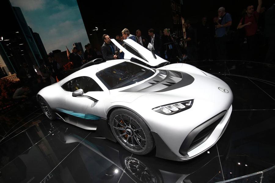 Mercedes-AMG Project ONE: un Fórmula 1 para la calle