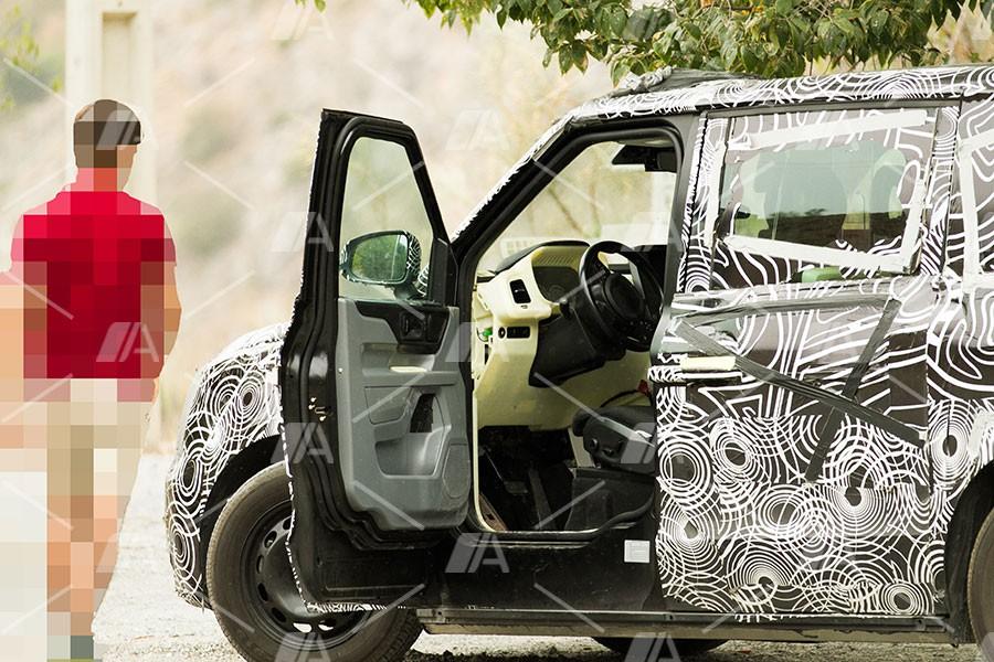 """Nuevas fotos espía del nuevo """"Taxi Londinense"""" para 2019"""