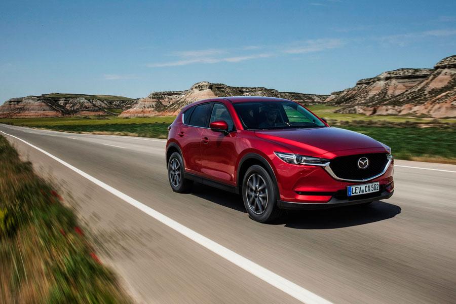 Mazda presenta el nuevo CX-5 con desactivación de cilindros